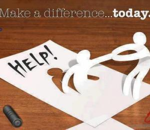 make a difference today