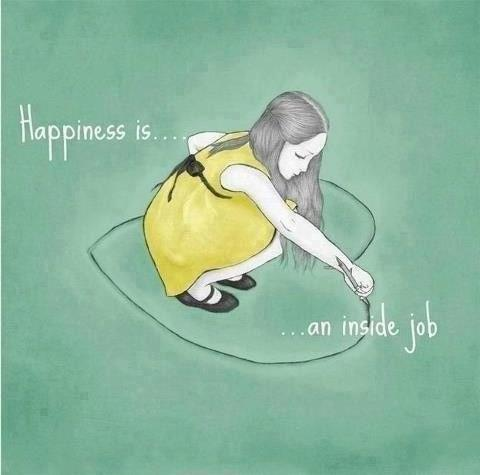 Delightful Happiness Is An Inside Job