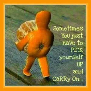 12- 31July 14 Pick yourself up