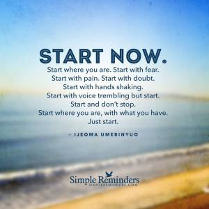 1-9 Jan 15 Get Started keep going