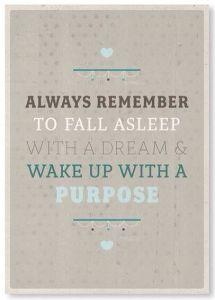 3-12-Feb 15- Dreams and purpose