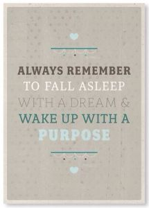 3-12-Feb 15- Dreams and purpose