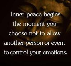9- 14 April 15 -Inner peace