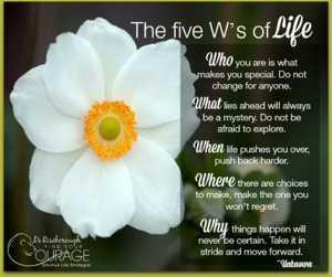 30 -The 5W's of Life