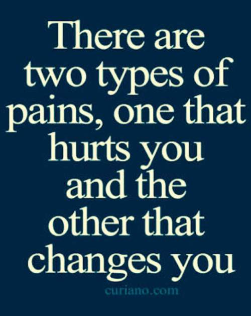 33- 10 Sept 17- Two types of pain