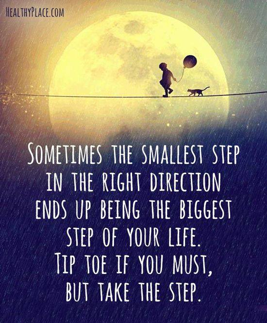 Tip toe towardspossibilities