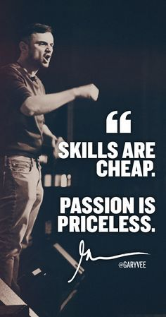 Passion is priceless