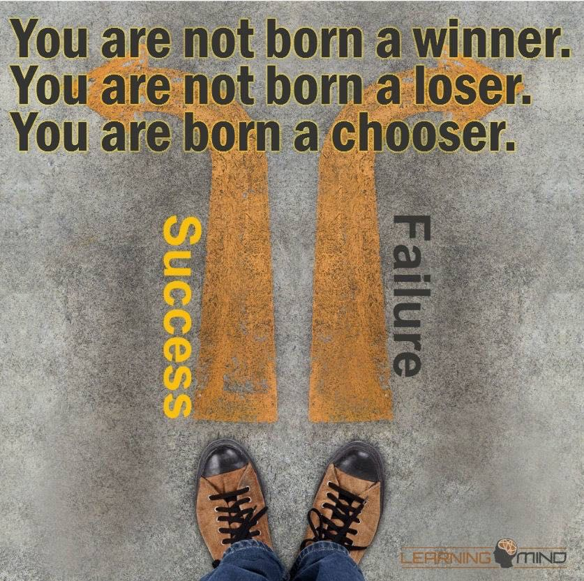 You are a born chooser
