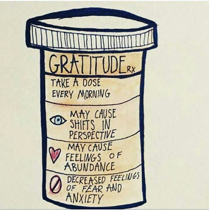 Benefits of a dose of gratitude