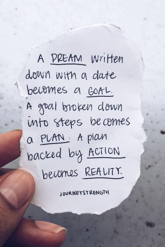 Making dreams cometrue